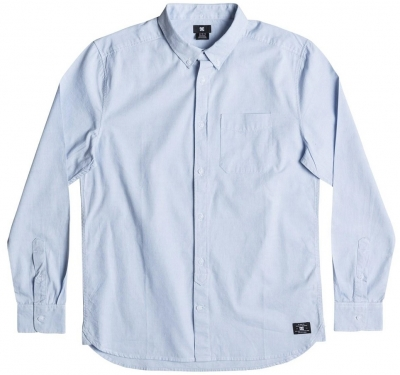 DC Shoes Oxford LS Woven, Light Blue