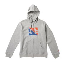 DC Shoes Power Move Hoodie, Heather Grey