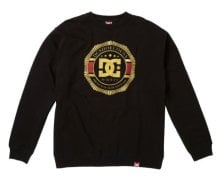 DC Shoes RD Lux Crest Crew, Black