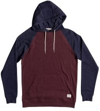 DC Shoes Rebel Raglan Hoodie, Port Royale