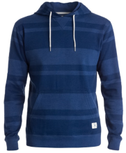 DC Shoes Rebel Stripe 3 Hoodie, Blue Depths