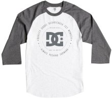 DC Shoes Rebuilt Raglan, Light Heather Grey