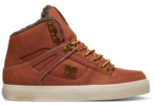 DC Shoes Spartan WC High-Top Shoes, Burnt Henna