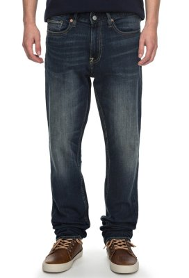 DC Shoes Worker Straight Fit Jeans, Medium Stone