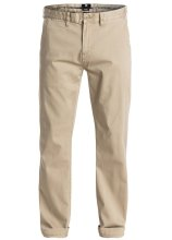 DC Shoes Worker Straight Fit Chino, Khaki