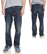 DC Shoes Worker Straight Jeans, Medium Stone