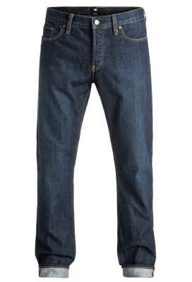 DC Shoes Worker Straight Jeans, Stone Wash
