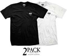 DGK 2Pack Premium Black & White Tees