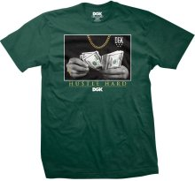 DGK Countin Loot Tee, Forest Green