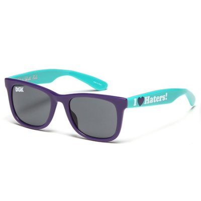 DGK Haters 2-Tone Shades, Purple Teal