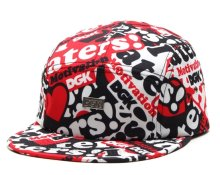 DGK Haters Collage 5 Panel Hat, Red