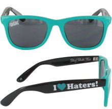 DGK Haters 2-Tone Shades, Teal Black