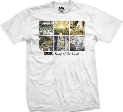 DGK King of The Crop Tee, White