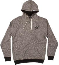 DGK Leisure Hoodie, Black Heather