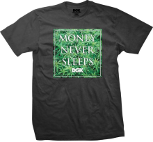 DGK Money Field Tee, Charcoal