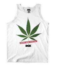 DGK Smoke Weed Everyday Tank, White