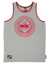 DGK University Tank, Heather Grey