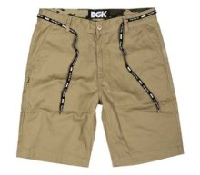 DGK Working Man Chino Shorts, Khaki