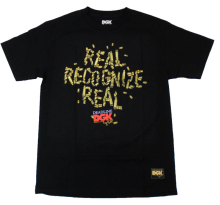 DGK x Deadline Tee, Black