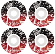 Darkstar Warrior Wheels 51mm