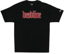 Deadline Illmatic Tee, Black