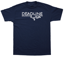 Deadline Xanny Bar Tee, Navy