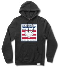 Diamond Supply Made In The USA Hoodie, Black