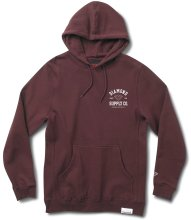 Diamond Supply Co Athletic Hoodie, Burgundy