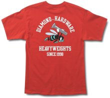 Diamond Supply Co Blue Hornets Tee, Red