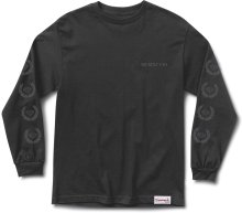 Diamond Supply Co Brilliant Crest LS Tee, Black