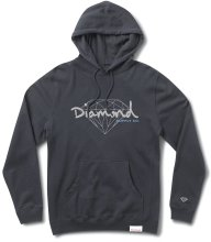 Diamond Supply Co Brilliant Script Hoodie, Navy