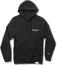 Diamond Supply Co Champagne Cut Hoodie, Black