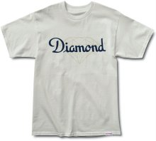 Diamond Supply Co Champagne Cut Tee, Cream