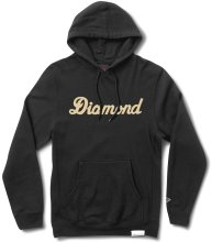 Diamond Supply Co City Script Hoodie, Black