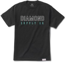 Diamond Supply Co College Tee, Black
