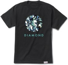 Diamond Supply Co Dispersion Tee, Black