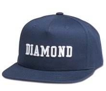 Diamond Supply Co Fordham Snapback, Navy