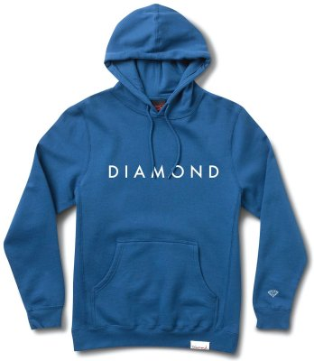 Diamond Supply Co Futura Hoodie, Royal Blue