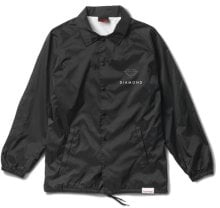 Diamond Supply Co Futura Sign Coaches Jacket, Black