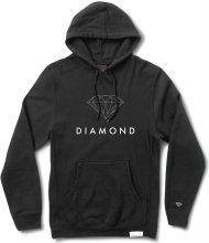 Diamond Supply Co Futura Sign Hoodie, Black