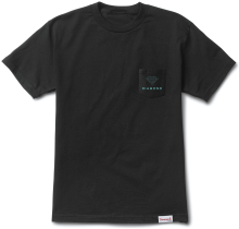 Diamond Supply Co Futura Sign Pocket Tee, Black