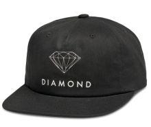 Diamond Supply Co Futura Sign Snapback, Black