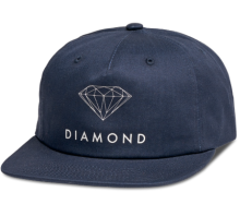 Diamond Supply Co Futura Sign Snapback, Navy