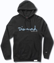 Diamond Supply Co OG Script Hoodie, Black