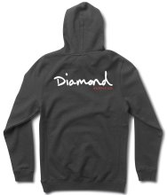 Diamond Supply Co OG Script Pullover Hoodie, Navy