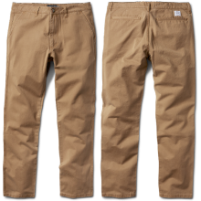 Diamond Supply Co Speedway Pants, Light Brown