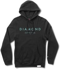 Diamond Supply Co Stone Cut Hoodie, Black