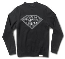 Diamond Supply Diamond Skull Crew, Black