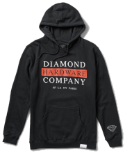 Diamond Supply Hardware Stack Hoodie, Black