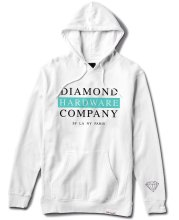 Diamond Supply Hardware Stack Hoodie, White